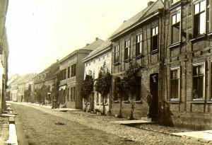 Obere Marktstraße vor dem Ersten Weltkrieg