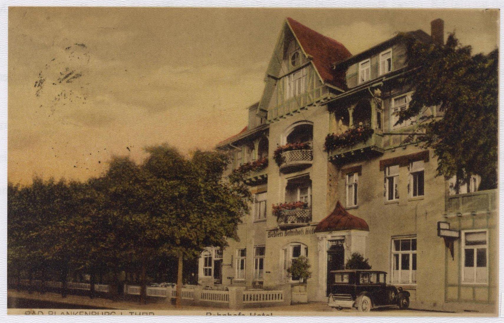 Bieblers Bahnhofshotel, die spätere BHG